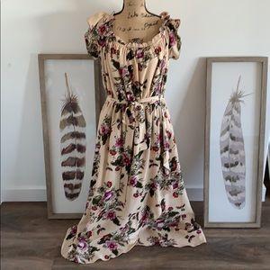 City Chic maxi floral dress